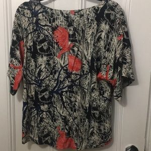 & Other Stories short sleeve blouse